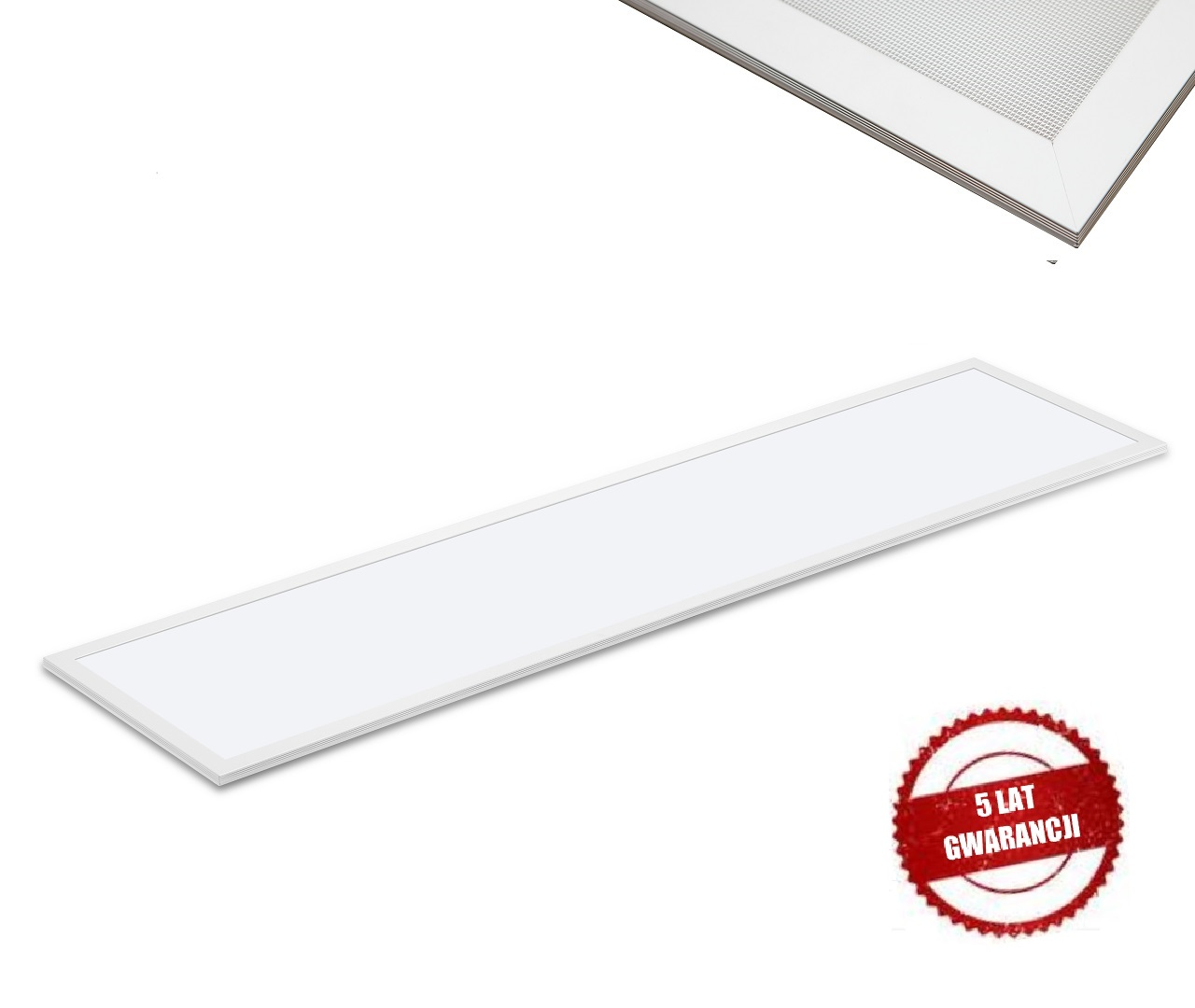 MISTIC Panel LED 30x120 40W MATT WHITE