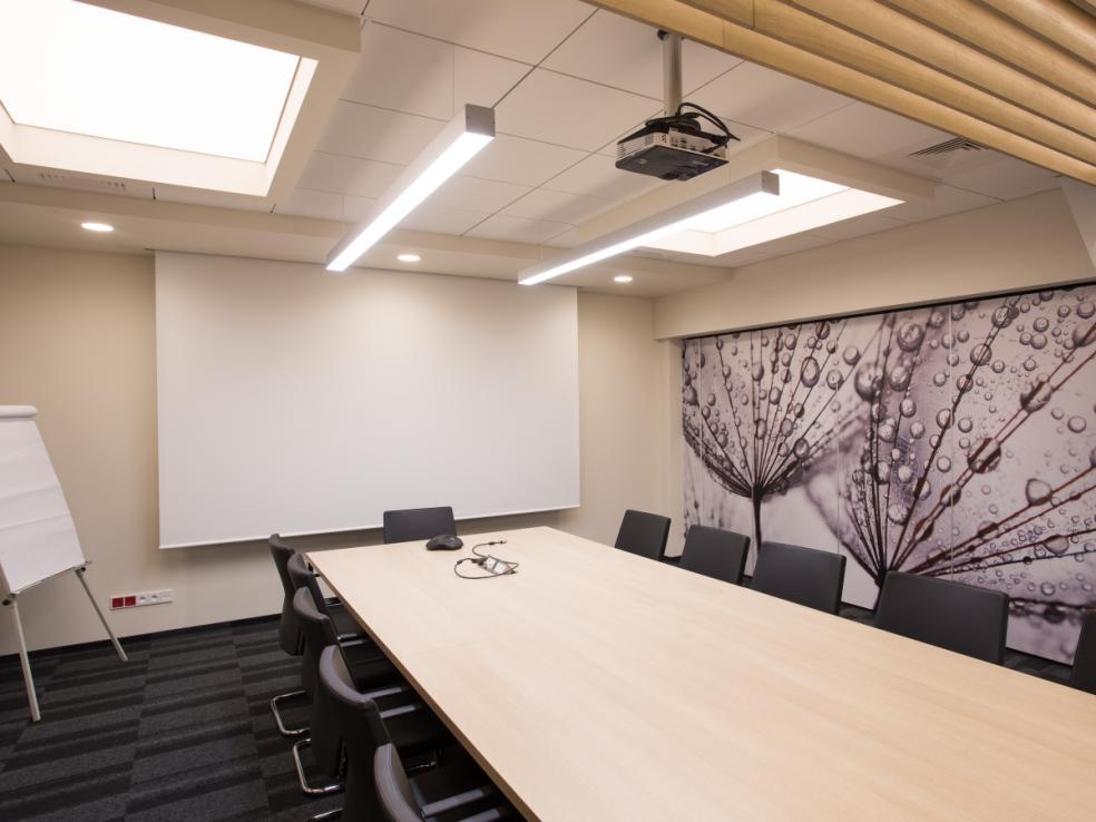 Oświetlenie Sali Konferencyjnej Połączenie Designu Z