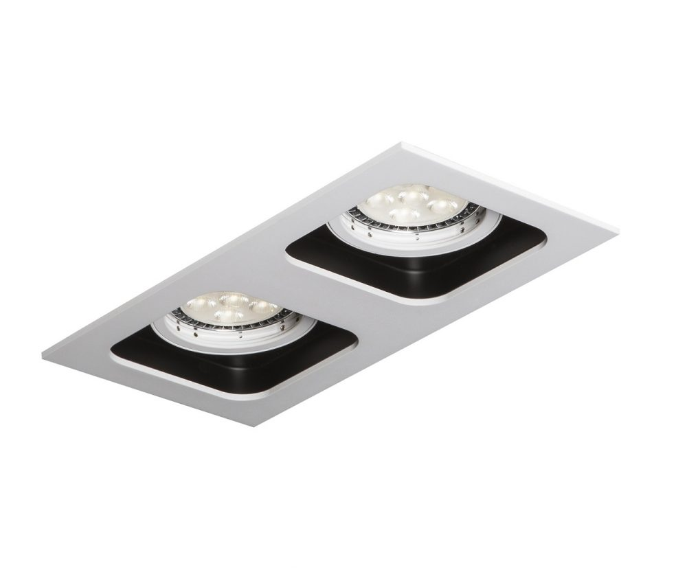 Oprawa Mistic DOUBLE QUAD White Black